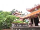 182 Вьетнам Нячанг прогулки по городу Пагода Лонг Сон или Шон Vietnam Nha Trang city Long Son Pagoda