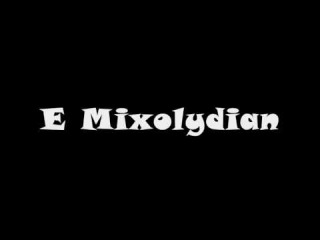 E Mixolydian Mode - Groovy Backing Track (Free mp3!)