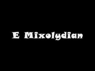 E Mixolydian Mode - Groovy Backing Track (Free mp3!)