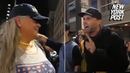 Protester tells alleged 9/11 widow: 'Your husband should rot in the grave'