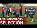 Entrenamiento de la Selección Española previo a los partidos de Croacia y Bosnia | Diario AS