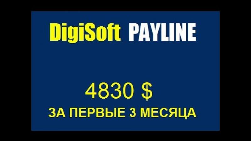 1 Digisoft Payline 4830$ за первые 3 месяца