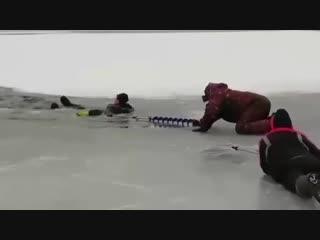 Первый лед. Сезон ихтиандра открыт