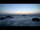 Футаж HD Море, волны, чайки.