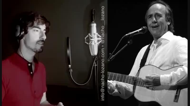 Canta Que viva, España de Manolo Escobar imitando la voz de 17 cantantes. ¡Impresionante!