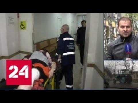 Три человека ранены при обстреле украинскими силовиками КПП в Донбассе - Россия 24
