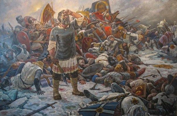 18 апреля День воинской славы России - Ледовое побоище (1242) картинки