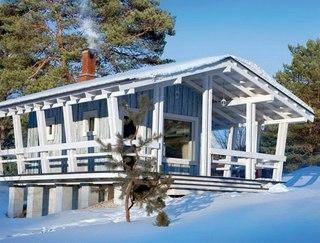 дома из клееного бруса лиственницы