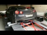 Nissan GT-R r35 замер мощности на стенде Dynomax5000 AWD