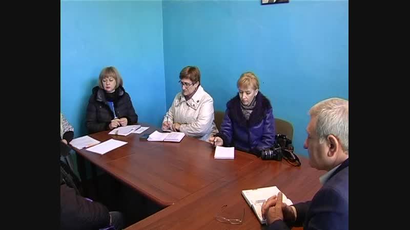 2 ноября в с Петровское состоялся выездной приём граждан и о главы администрации Старобешевского района Николаем Михайловым
