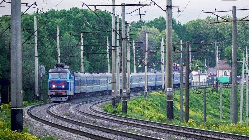Поезд №117 Киев-Черновцы (