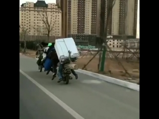 скутер лимузин