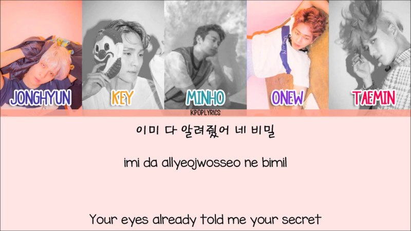 Shinee - Odd Eye [Eng/Rom/Han] Picture Color Coded HD