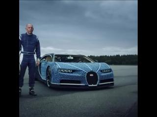 Из Lego собрали полноразмерный Bugatti