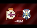 Обзор матча ДЕПОРТИВО ЛА-КОРУНЬЯ - ТЕНЕРИФЕ | Resumen | Highlights Deportivo de la Coruña (1-1) CD Tenerife - HD