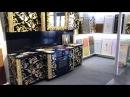Покраска МДФ фасадов Золочение Gilding DESIGN LIVING TENDENCY 2017 Троша Студио