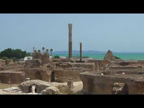 Тунис Карфаген Термы -римские бани Tunis Carthage Thermes-Roman baths