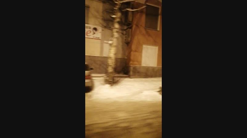 Ночное ДТП ул. Ленина (Ю-С)
