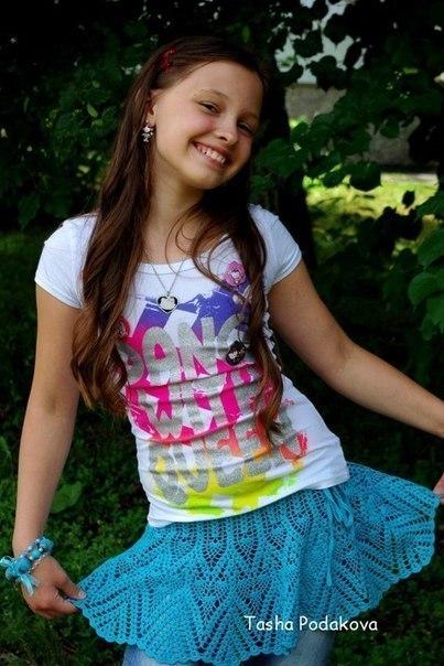 Юбочка на девочку. Автор Подакова Наталья… (6 фото) - картинка