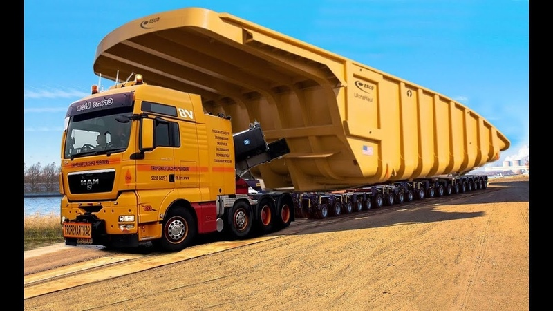 10 Extreme Dangerous Biggest Terex Truck Equipment World's Most Powerful Heavy Truck Excavator