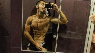 Teen Muscle Athlete DylonSC Shower Flex And Dominant Talking(Мускулистый Подросток-Спортсмен ДилонSC в душе Flexует и доминирующе говорит) #Парень#Парни#blue#blueberry#hot#boy#boys#gay#sexy#guy