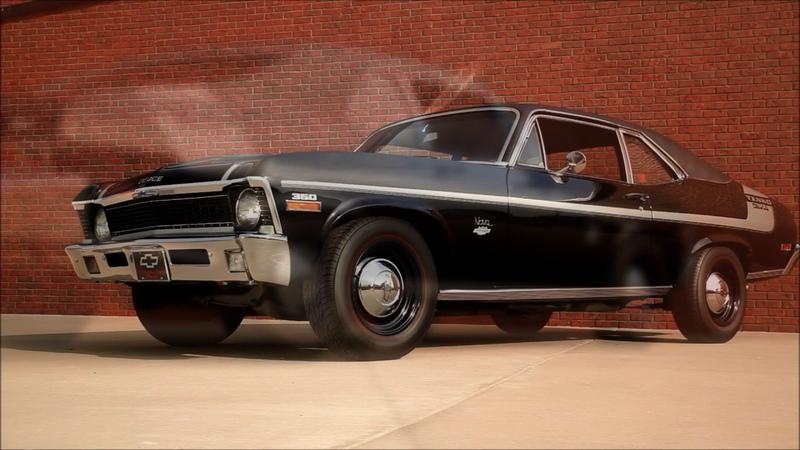 1971 Yenko Deuce Nova Recreation Chevelle Camaro Chevy ll Hot Rod Muscle Car FOR SALE