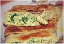 Пирог из лаваша с сыром и зеленью в духовке: ПП-перекус!