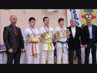 Открытый Чемпионат и Первенство по Киокусинкай каратэ г. Сарапул 29-30 декабря 2018 г.