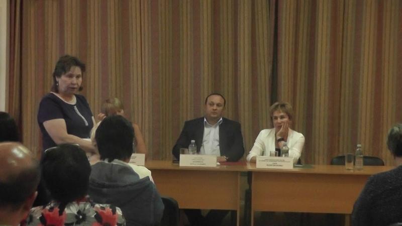 Встреча главы управы района Черемушки с жителями 18.07.2018