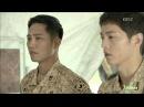 Сон Чжун Ки, Чжин Гу, Сон Хе Ге, Ким Чжи Вон - Потомки солнца. Фильм 2 - Спецназовский броманс (4)