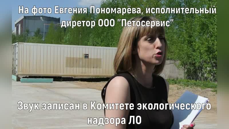 Исполнительный директор ООО Петросервис Евгения Пономарёва об исках и фотошопе