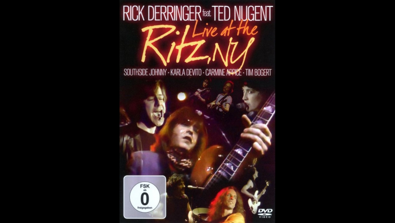 Rick Derringer feat Ted Nugent : Live at the Ritz, NY 1982@