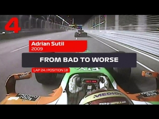 5 Crazy Onboards Singapore Grand Prix
