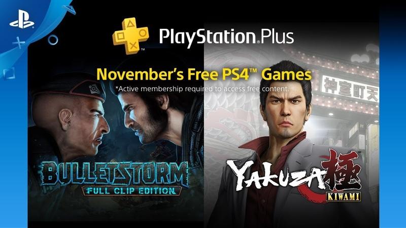 PlayStation Plus - Free Games Lineup: November 2018 | PS4