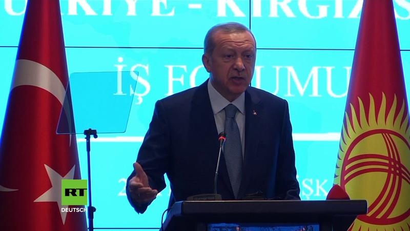 Türkischer Präsident Erdoğan ruft andere Staaten auf, Handel mit Dollar einzustellen