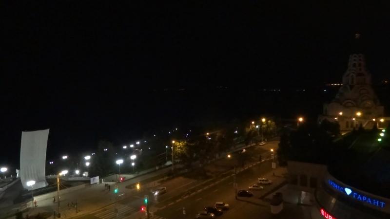 07 08 2018 Самара Огни большого города и сполохи ночи
