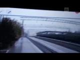 Обрушение моста на поезд в Приамурье попало на видео