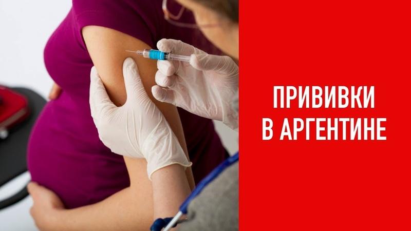 Прививки в Аргентине
