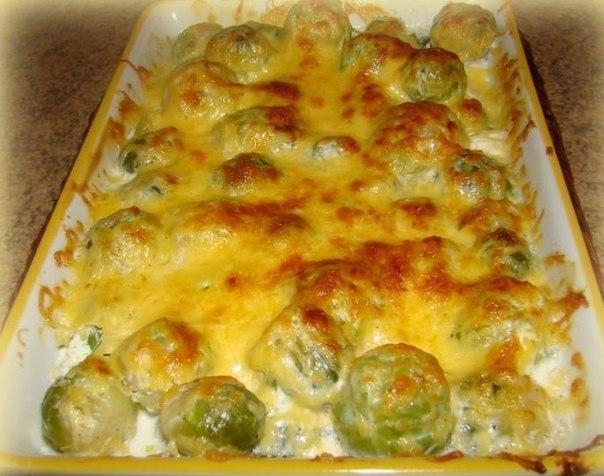 простые блюда из брюссельской капусты рецепты