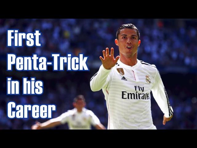 Cristiano Ronaldo - First Penta-Trick in his Career! Real Madrid 9:1 Granada C.F 05/04/2015