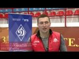 Олимпийский чемпион, офицер Росгвардии, подполковник Александр Легков поздравляет ВФСО