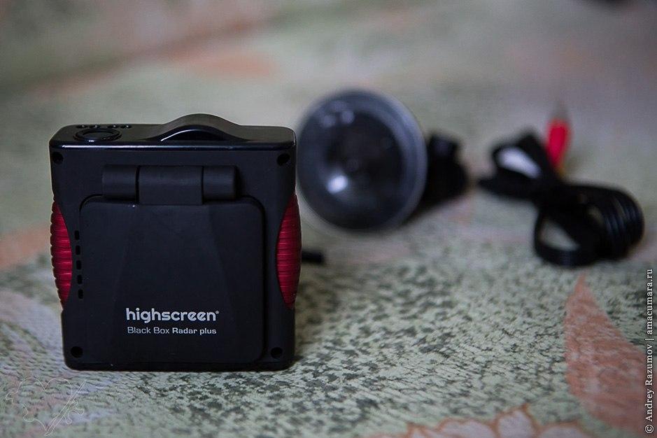Обзор регистратора Highscreen Black Box Radar plus