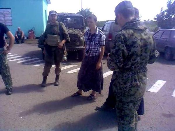 Ополченцы поймали дезертиров