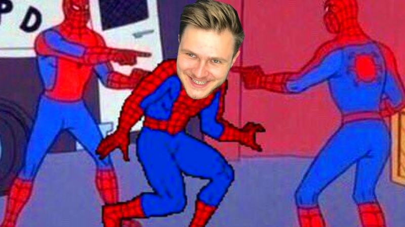 FROST ВЕЗДЕ ФЕЙКИ Человека Паука Spider Man 7