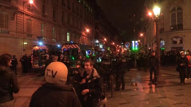 Uživo - Prosvjedi u Parizu 08/12/2018