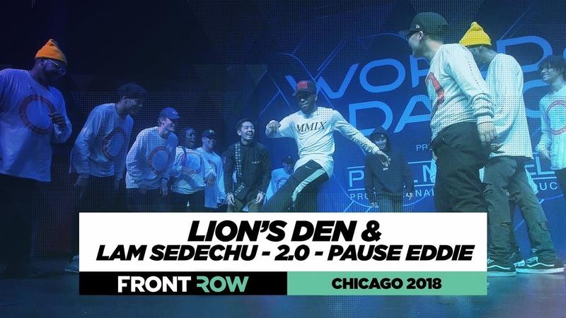 Lion's Den Showcase ft. Lam Sedechu, 2.0 Pause Eddie | World of Dance Chicago 2018 | WODCHI18 1