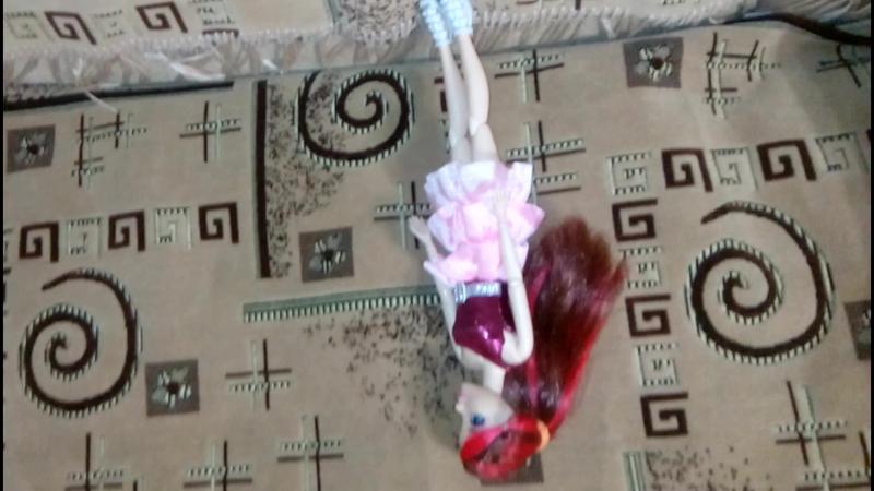 Моё первое видео с моей любимой куклой