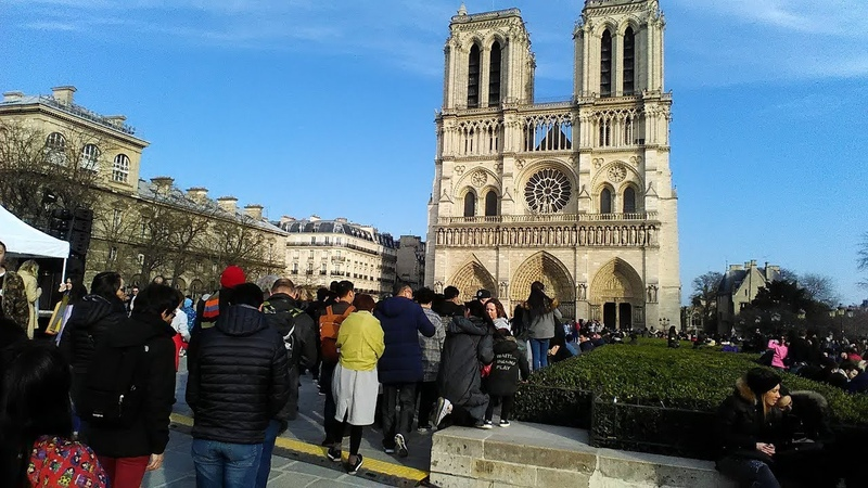 Собор Парижской Богоматери и прогулка