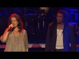John vs. Anja - All Along The Watchtower | The Voice of Germany 2013 | Battle