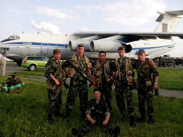 В Луганске сбит украинский транспортный самолет Ил-76: 49 погибших